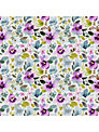 bluebellgray Christine Fabric, Purple