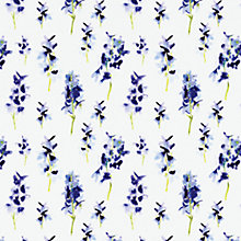 Buy bluebellgray Delphinium Fabric, Blue Online at johnlewis.com