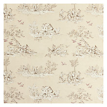 Buy John Lewis Leckford Toile Fabric Online at johnlewis.com