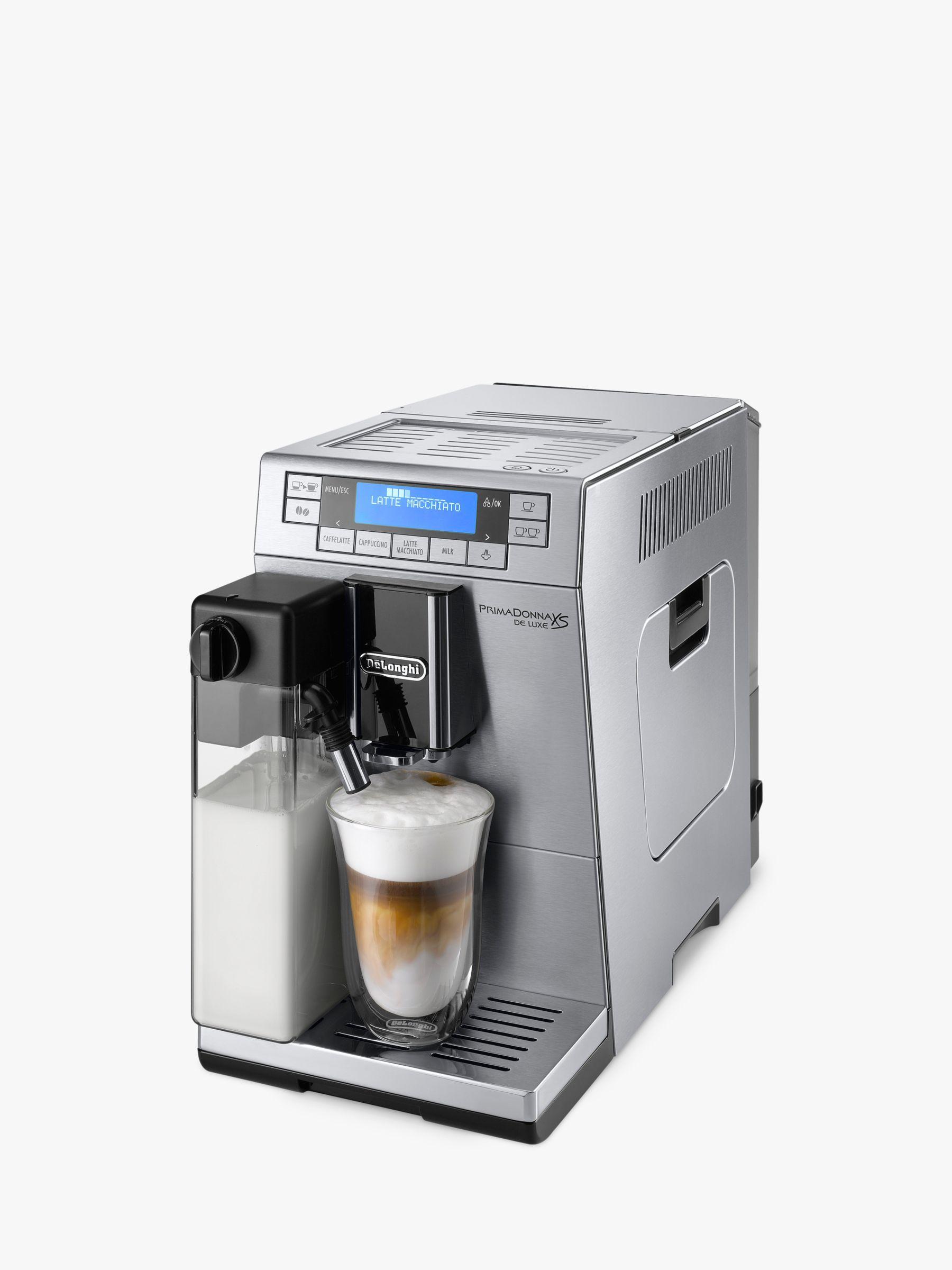 Electronic Prima Donna Delonghi Coffee Machine buy delonghi etam36 365 primadonna xs bean to cup coffee machine