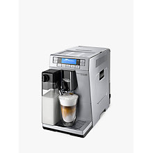 Buy De'Longhi ETAM36.365 Prima Donna XS Bean-to-Cup Coffee Machine with FREE Gun Metal Scultura Kettle and Toaster Online at johnlewis.com
