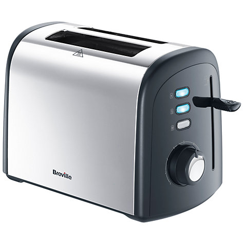 Buy Breville VTT375 2-Slice Toaster, Polished Stainless Steel Online at johnlewis.com