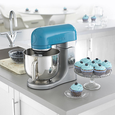 Buy Kenwood kMix KMX93 Stand Mixer, Blue Online at johnlewis.com