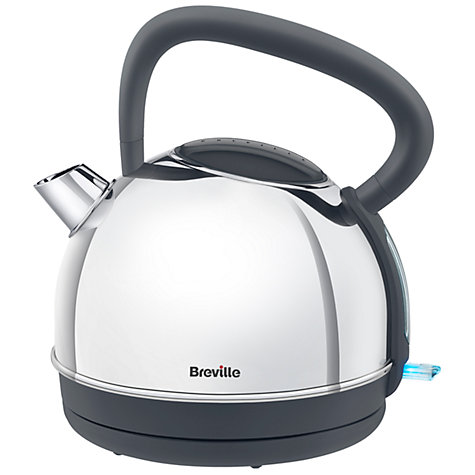 Buy Breville VKJ775 Traditional Kettle, Polished Stainless Steel Online at johnlewis.com