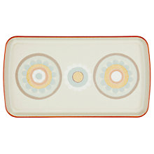 Buy Denby Heritage Terrace Accent Rectangle Plate, L26 x W15cm, Grey Online at johnlewis.com