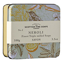 Buy Scottish Fine Soaps Soap In A Tin Neroli, 100g Online at johnlewis.com