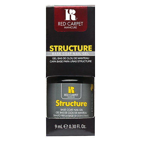 Buy Red Carpet Manicure Structure Base Coat Gel, 9ml Online at johnlewis.com