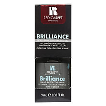 Buy Red Carpet Manicure Brilliance Seal & Shine Top Coat, 9ml Online at johnlewis.com