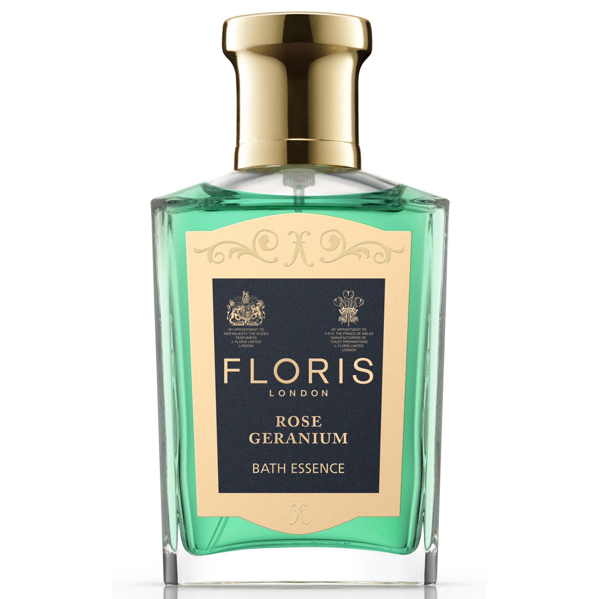 Floris Floris Rose Geranium Bath Essence, 50ml