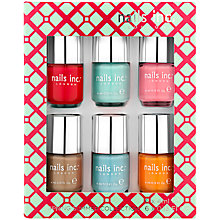 Buy Nails Inc. Spring Summer Collection, 6 x 4ml Online at johnlewis.com