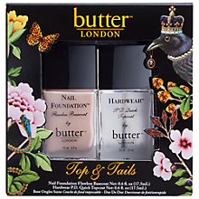Buy Butter London Top and Tails Set, 2 x 17.5ml Online at johnlewis.com