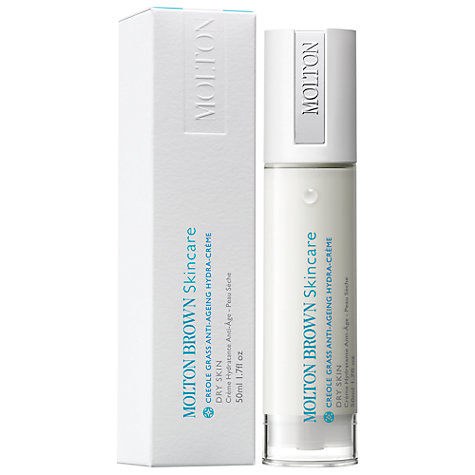 Buy Molton Brown Creole Grass Anti-Ageing Moisturiser, 50ml Online at johnlewis.com