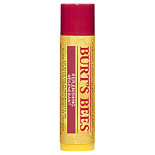 Buy Burt's Bees Replenishing Lip Balm with Pomegranate Oil, 4.25g Online at johnlewis.com