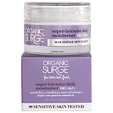 Buy Organic Surge Super-Intensive Daily Moisturiser, 50ml Online at johnlewis.com