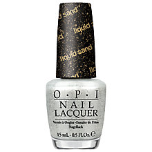 Buy OPI Bond Girls Liquid Sand Nail Polish, 15ml Online at johnlewis.com