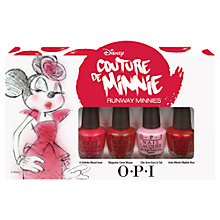 Buy OPI Nails Runway Minnies Nail Poilsh Set, 4 x 3.75ml Online at johnlewis.com