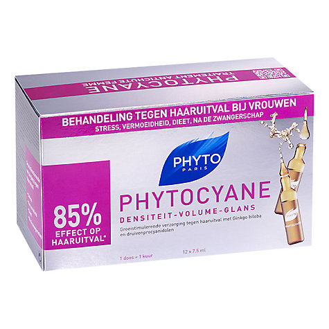 Buy Phyto Phytocyane Revitalising Thinning Hair Treatment, 12 x 7.5ml Online at johnlewis.com