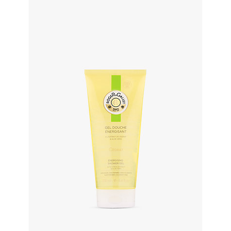 Buy Roger & Gallet Citron Fresh Shower Gel, 200ml Online at johnlewis.com