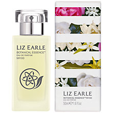 Buy Liz Earle Botanical Essence Eau De Parfum No 100, 50ml Online at johnlewis.com