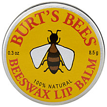 Buy Burt's Bees Beeswax Lip Balm Tin, 8.5g Online at johnlewis.com