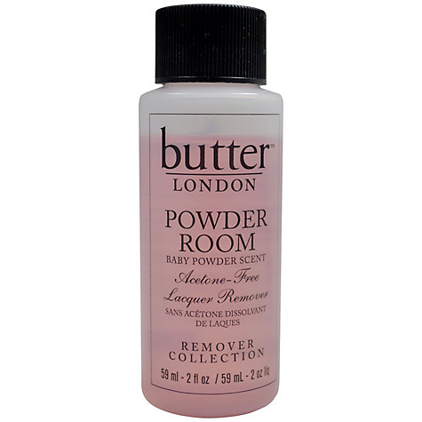 Buy Butter™ LONDON Powder Room Acetone Free Polish Remover, 59ml Online at johnlewis.com
