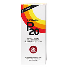 Buy Riemann P20 Once a Day SPF 50 Sun Cream, 200ml Online at johnlewis.com