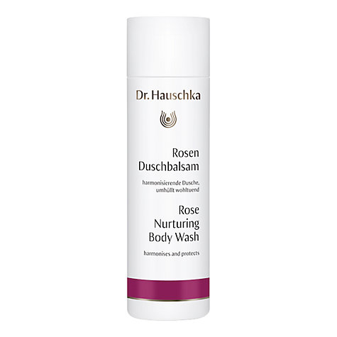 Buy Dr Hauschka Nurturing Rose Body Wash, 200ml Online at johnlewis.com