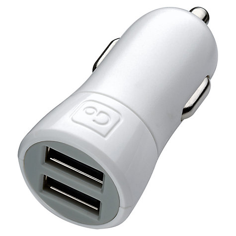 Buy Go Travel 039 Double USB In-Car Charger Online at johnlewis.com