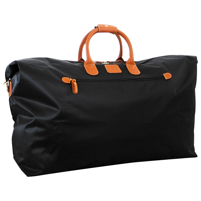 Bric's Bric's X Travel Nylon Leather Trim Medium Holdall