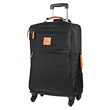 Buy Bric's X Travel 4-Wheel Medium Suitcase, Black Online at johnlewis.com