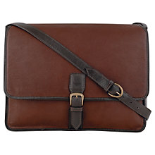 Buy Hidesign Harrison Leather Messenger Bag Online at johnlewis.com
