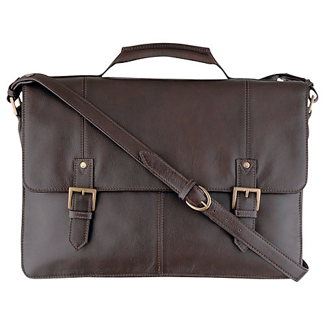 Buy Hidesign Charles Leather Satchel Online at johnlewis.com