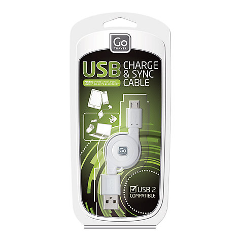 Buy Go Travel 043 USB Charging Cable Set Online at johnlewis.com