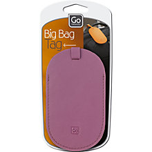 Buy Go Travel PU Big Bag Address Tag, Assorted Colours Online at johnlewis.com