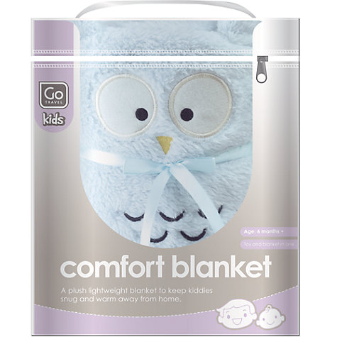 Buy Go Travel 2685 Comfort Blanket, Assorted Colours Online at johnlewis.com