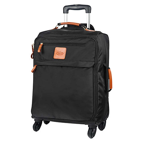 Buy Bric's X Travel 4-Wheel Soft Side Cabin Suitcase, Black Online at johnlewis.com