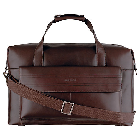 Buy Hidesign Byron Leather Holdall Online at johnlewis.com