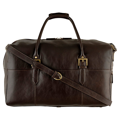 Buy Hidesign Charles Leather Holdall Online at johnlewis.com