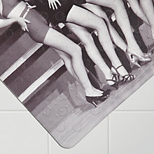 Buy John Lewis Retro Show Girls In-Bath Mat Online at johnlewis.com