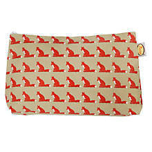 Buy Anorak Proud Fox Washbag, Medium Online at johnlewis.com