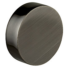 Buy John Lewis Gunmetal Stud Finial, Dia.19mm Online at johnlewis.com