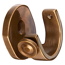 Buy John Lewis Solid Brass Recess Bracket, Dia.28mm Online at johnlewis.com