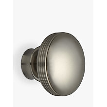 Buy John Lewis Steel Ribbed Ball Finial, Dia.28mm Online at johnlewis.com