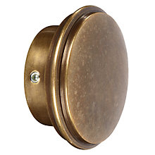 Buy John Lewis Solid Brass Stud Finial, Dia.28mm Online at johnlewis.com