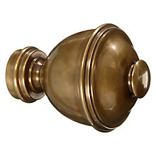 Buy John Lewis Solid Brass Urn Finial, Dia.28mm Online at johnlewis.com