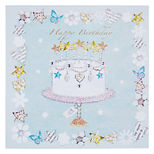 Buy Hammond Gower Birthday Cake Birthday Card Online at johnlewis.com
