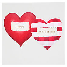 Buy Black Olive Hearts Anniversary Card Online at johnlewis.com