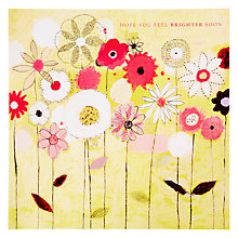 Buy Black Olive Sunny Garden Get Well Soon Card Online at johnlewis.com