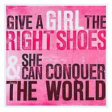 Buy Urban Graphic The Right Shoes Greeting Card Online at johnlewis.com