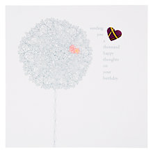Buy Valerie Valerie A Thousand Happy Thoughts Birthday Card Online at johnlewis.com